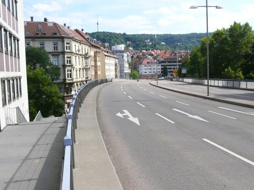 Autogerechte Stadt Suttgart