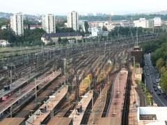 Gleisanlagen des Stuttgarter Hauptbahnhofs