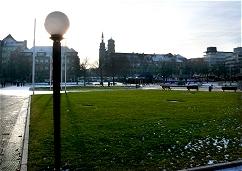 Der Schloßplatz