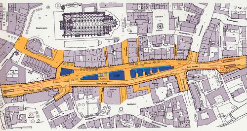 Plan für die Neue Strasse