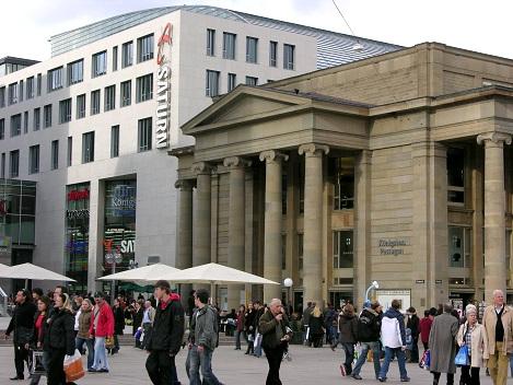 Stuttgart, Schloßplatz