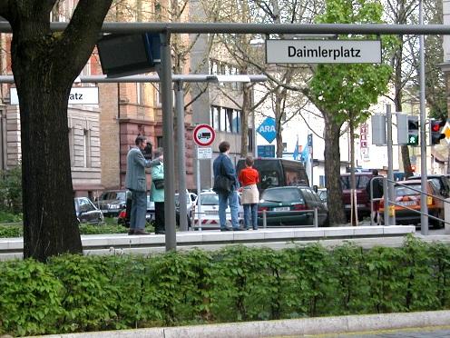Daimlerplatz, Stuttgart, Band Cannstatt